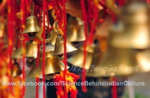 "Scientific Reason behind Why there are ""Bells"" In Temples ?"