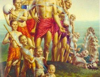 Human soul passes 8.4 million lives to get into human life