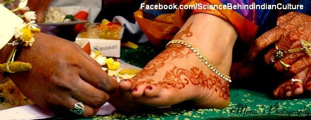 Why Indian married Women Wear Toe RIngs